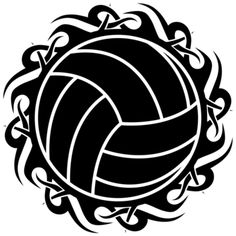 Tribal volleyball...cool!