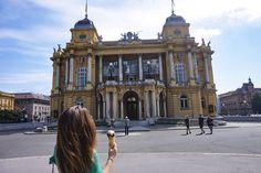 National Theatre in Zagreb 🍦