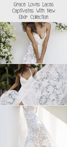 Grace Loves Laces Captivates With New Elixir Collection Disney Wedding Dresses, Designer Wedding Dresses, How To Be Graceful, Grace Loves Lace, Mod Wedding, Glamour, Bride, Empire, Collection