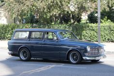 Volvo Amazon Kombi: Wagon version.  If its not gonna be that fast, might as well be practical