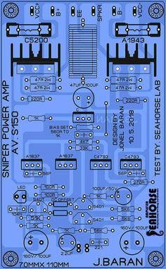 Pin by এস আর ইলেকট্রনিক্স SR electronics on 1943 & 5200 in 2019 Valve Amplifier, Car Audio Amplifier, Class D Amplifier, Stereo Speakers, Electronic Circuit Design, Electronic Parts, Electronic Engineering, Arduino, Klipsch Speakers