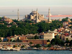 A historic crossroads of culture and design, Istanbul's landscape provides a prominent display of its two conquering empires. Travelers needn't look farther than the Hagia Sophia mosque for the aesthetics central to both: the Byzantine dome and colored mosaics, and the Ottoman minarets and Islamic calligraphy. See more photos of cities for design lovers