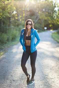 Weekly Workout Routine: Nike Vintage Hoodie | A Southern Drawl | Bloglovin'