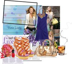 """""""Blake Lively"""" by rose-thulian on Polyvore"""