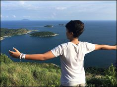 My boy at Black Rock Viewpoint Black Rock, Phuket, My Boys, My Children