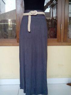 Rok spandek rayon @75rb Spandek rayon no belt All size fit L