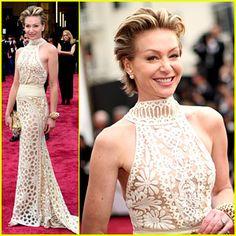 GORG!!!! Portia De Rossi Supports Wife Ellen DeGeneres at Oscars 2014! | 2014 Oscars, Portia de Rossi : Just Jared