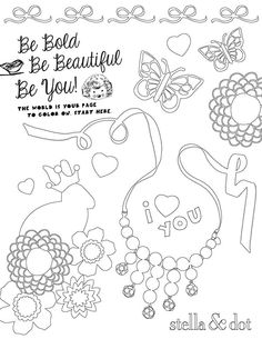 CONTEST ANNOUNCEMENT!  Step 1: Print this off Step 2: Have the little girl in your life (daughter, niece, neighbour) colour it in Step 3: Email me with the finished product  I will post pictures to my page - the picture that gets the most 'likes' wins a piece from our new collection!! Of course you have to 'like' my Facebook Fan Page as well - www.facebook.com/lauriedefleuriot.style  Email to lauriedefleuriot@gmail.com before Tuesday, September 3rd 2013 to enter!