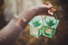 mint lanterns