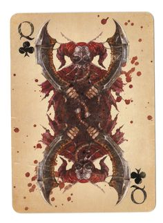 Fable Cards: Queen of Clubs by Frostbite-Melody.deviantart.com on @deviantART