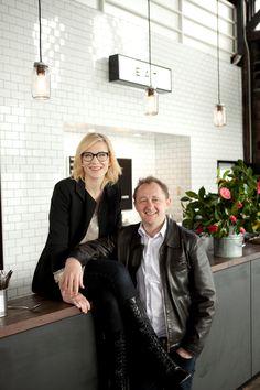 fuck yeah, cate blanchett! (mylittlespitfire:   Cate Blanchett and Andrew...)