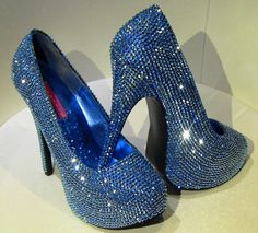 Swarovski shoes-Sparkly High heels-special event shoes-Bling Shoes-Glitter  Shoes-Rhinstone Heel Shoes-Evening Shoes-Black Friday a244f1a461