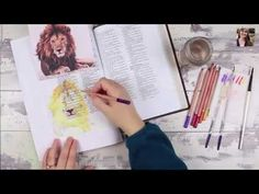 Rebekah Jones video for week 3 of Bible Art Journaling Challenge: How to Paint A Lion With Watercolor Pencils in your Bible. Art Journal Pages, Art Journaling, Bible Journal, Prayer Journals, Scripture Art, Bible Art, Art Prints For Home, Watercolor Pencils, Watercolor Painting