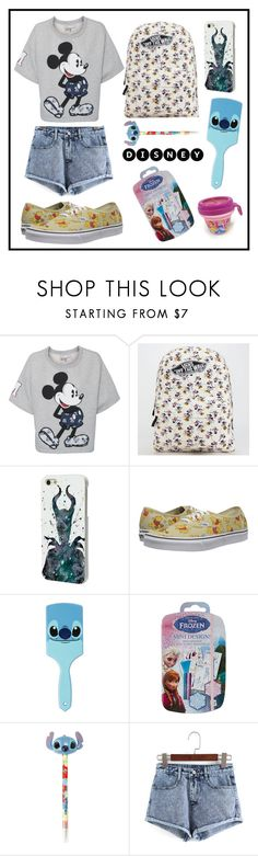 """#142 Disney"" by xjet1998x ❤ liked on Polyvore featuring Paul & Joe Sister, Vans and Disney"