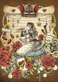 Alice pergaminho