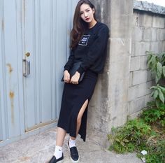 Korean Ulzzang Fashion   Name: Sooyeon Lim  Instagram:  https://www.instagram.com/monosooo/                                            ...