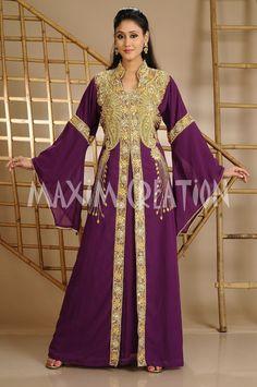 Dubai wedding gown,Royal kaftan fancy abaya jalabiya Arabic khaleeji party 3626 #MaximCreation #Kaftan #Formal