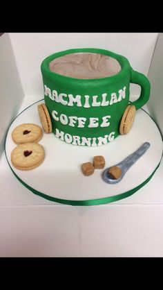 Macmillan coffee morning if cake