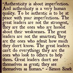 - authenticity -