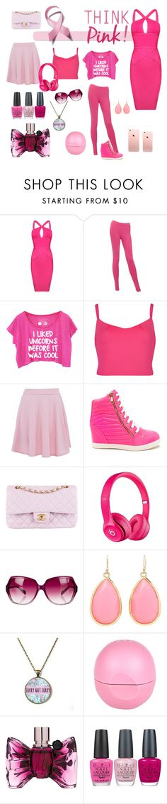 """"""""""" by anamaria1418101 ❤ liked on Polyvore featuring Posh Girl, Chanel, Ted Baker, Apple, Oliver Peoples, Kate Spade, River Island, Viktor & Rolf and OPI"""