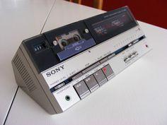 Sony TC-MR2. Deck de microcassette estéreo