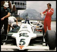 f1 21 de Marzo de 1982-Carlos Reutemann-Última carrera de Fórmula 1-Williams FW07C-Colección Alejandro de Brito-Cortesía Diego Stettler