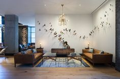 """A sneak peek at Austin's newest hotel. When we say Austin, you say what? What do you think of when someone says """"Austin""""? Austin Texas is home to a … read Lobby Interior, Interior Design, Austin Hotels, Hotel Lobby Design, Unusual Hotels, Kimpton Hotels, Heritage Hotel, Lounge, Hospitality Design"""
