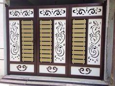 Backup_of_main gate 3 plate Iron Main Gate Design, Grill Gate Design, Steel Gate Design, Front Gate Design, Window Grill Design, Door Gate Design, House Arch Design, House Main Gates Design, Main Entrance Door Design