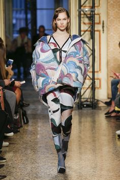 Emilio Pucci Fall 2018 Ready-to-wear Fashion Show Collection