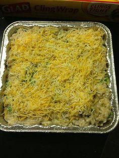 Broccoli Rice Chicken casserole