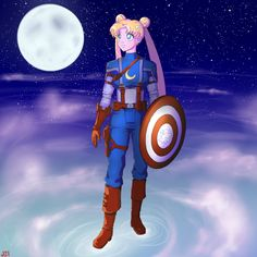 Sailor Moon Characters Reimagined as AVENGERS — GeekTyrant