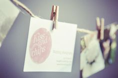 Kissandchips corporate identity