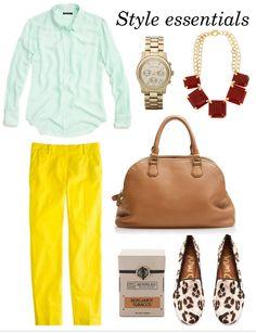 Style Essentials via Daily Dream Decor.
