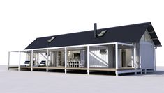 Eunoia - Living Baches :: Architecturally Design Bach Options Nest Building, Compact House, Exterior Cladding, Deck With Pergola, Kit Homes, Architect Design, New Builds, Architecture Details, My House
