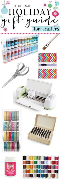 20+ Great Gift Ideas for the Crafter on Your List (or send this list to your husband-hint hint!)
