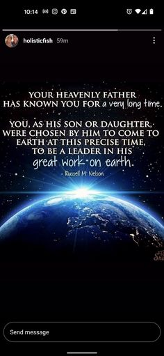Young Women Lessons, Heavenly Father, Send Message, Knowing You, Earth, Mother Goddess, World, The World
