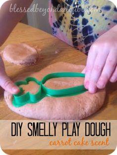 DIY Smelly Play Dough Recipe! Super EASY!