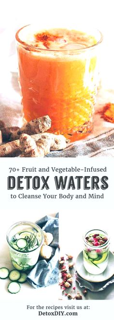 These are the best detox water recipes! Just cut ingredients and let infuse over… - Health Detox Sugar Detox Recipes, Water Recipes, Cleanse Recipes, Juice Recipes, Smoothie Recipes, Vegan Recipes, Best Detox Water, Digestive Detox, Body Detox Cleanse