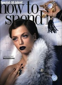 Hanna Verhees | How to Spend it November 2011