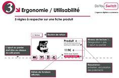 Ergonomie et Utilisabilite - 5 règles à respecter sur une fiche produit