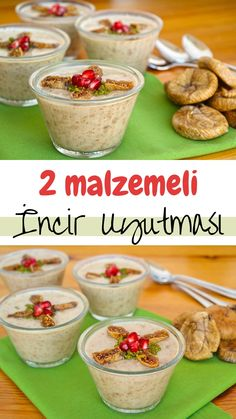 İncir Uyutması Yapımı (videolu) - Nefis Yemek Tarifleri - How to make figs? Here is a picture description of this recipe in the book of people and photographs of the experimenters Pudding Desserts, Vegan Desserts, Turkish Recipes, Ethnic Recipes, Mac And Cheese Homemade, Yummy Food, Tasty, Banana Pudding, Yummy Cakes