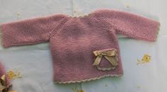 Blog Abuela Encarna Knitting For Kids, Baby Knitting, Baby Fabric, Baby Comforter, Baby Sweaters, Hobbies And Crafts, Baby Gifts, Knit Crochet, Color Rosa