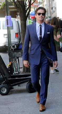 Neal Caffrey walking it out :)