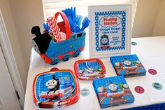 Thomas the Train Birthday Party Ideas | Photo 25 of 48 | Catch My Party