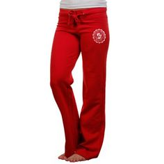 Champion Ohio State Buckeyes Ladies Campus Pants - Scarlet