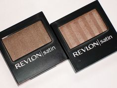 The Beauty Look Book: Revlon Luxurious Color Satin Eyeshadows: Polished Bronze & Nude Slip
