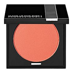 MAKE UP FOR EVER Eye Shadow - pressed shadow with a silky texture, highly pigmented, long wearing and easy to blend. Shade: Orange Coral Matte 5 - matte vibrant coral #Sephora