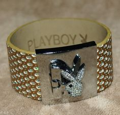 Vintage Lot of 1 Collectible Playboy Bunny Rhinestone by RetroNew, $24.99