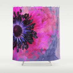 Flower #1 by Psychae Shower curtains available on http://society6.com/psychae