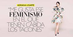 Adriana Ugarte, cuestión de clase